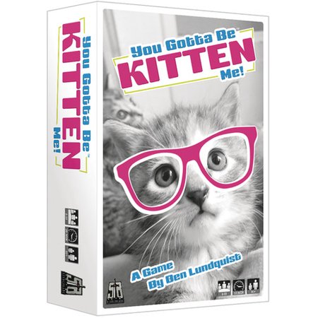 You Gotta Be Kitten Me! - A Fast Fun Party Game! (Fun Kid Halloween Party Games)