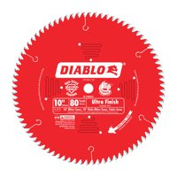 Diablo D1080X 10-Inch 80 Tpi Ultra Finish Chop/Slide Miter And Table Saw Blade