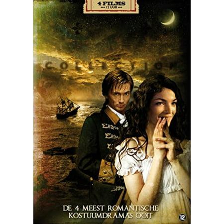 Anastasia Collection (The Romance Collection - 4-DVD Box Set ( Anastasia: The Mystery of Anna / The Crown Prince (Kronprinz Rudolf) / Les Misérables / Casanova ) [ NON-USA FORMAT, PAL, Reg.2 Import - Netherlands ] )