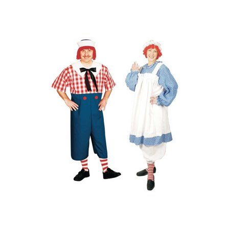 Gothic Raggedy Ann Halloween Costumes (Raggedy Andy and Raggedy Ann Plus size Couples)