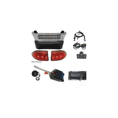 STANDARD Club Car Precedent Golf Cart Street Pkg LED Light Kit Electric with 12v Batteries 2008.5+ by