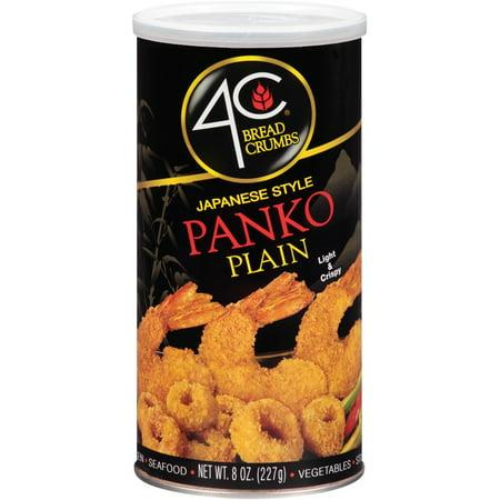 Image of 4C Japanese Style Panko Bread Crumbs, Plain, 8 Oz