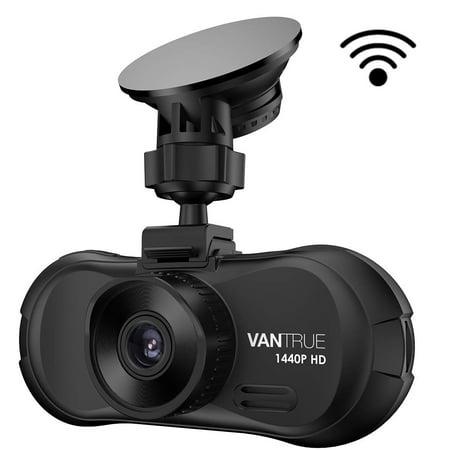 Vantrue X3 WIFI Dash Cam, Super HD 2.5K 1440P Night Vision Parking