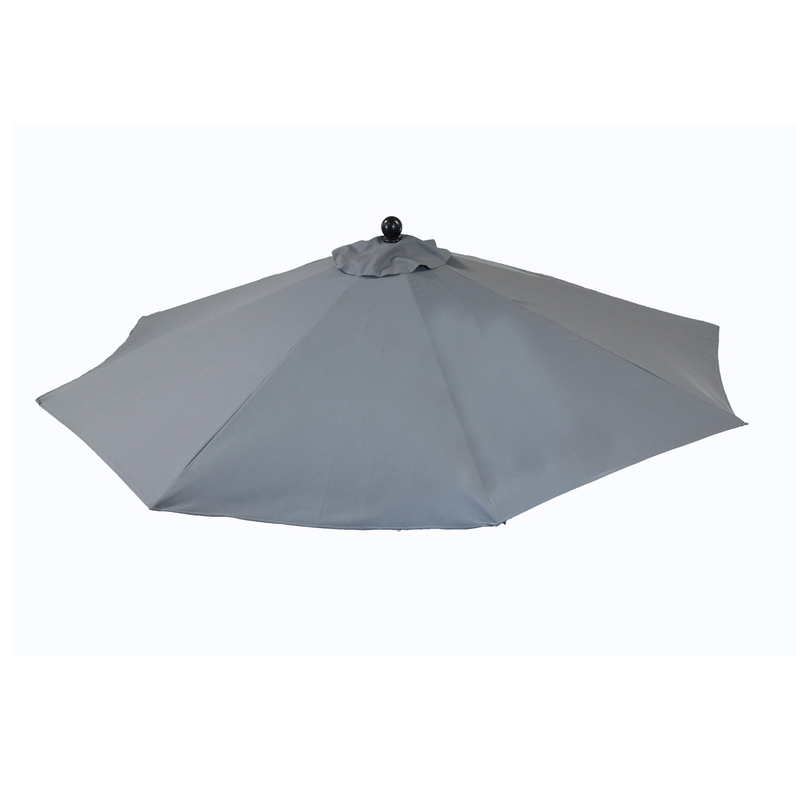 9ft Tilt Italian Market Umbrella Home Patio Canopy Sun Shelter - Slate