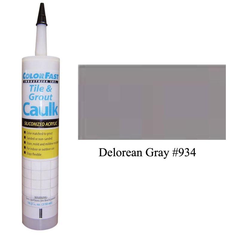 Latex Colored Caulk - TEC Color Line: Delorean Gray Sanded