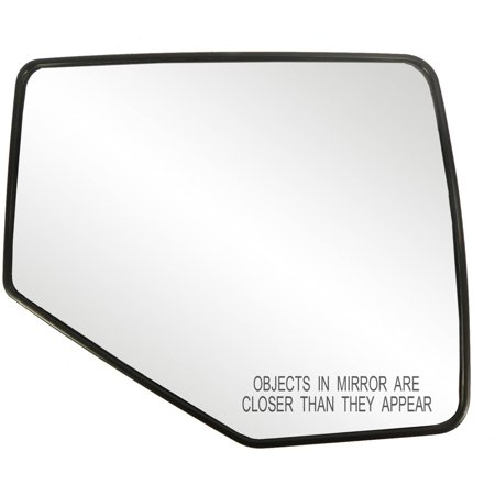 """80211 - Fit System Passenger Side Non-heated Mirror Glass w/ backing plate, Ford Expedition 07-14, 5 5/ 8"""" x 8 9/ 16"""" x 9 5/ 8"""" (w/ o Blind Spot)"""