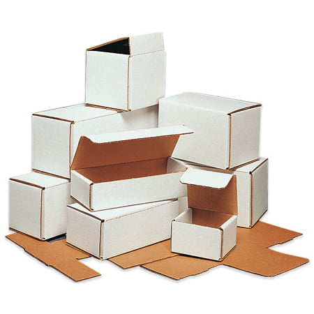 M3644 Oyster White 36 1/4 Inch x 4 7/8 Inch x 4 Inch light-weight Corrugated Mailers BUNDLE OF