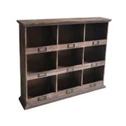 Cheungs FP-4120 Wooden Wall With 9 Cubbies