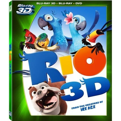 Rio (3D Blu-ray   Blu-ray   DVD) (With INSTAWATCH) (Widescreen)