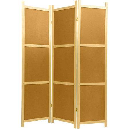 Shoji Lattice (6' Tall Cork Board Shoji Screen )