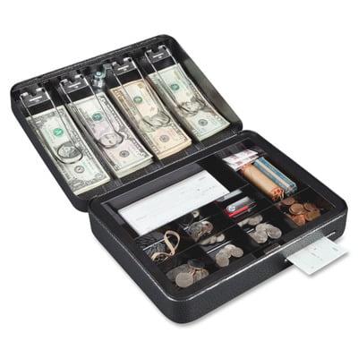 FireKing Key Locking Custom Cash Box FIRCB1209