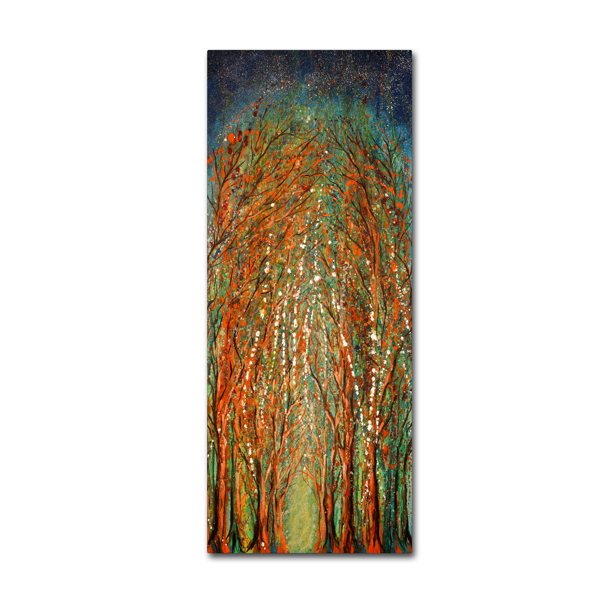 Trademark Fine Art 'The Wildwood Forest' Canvas Art by Michelle Faber