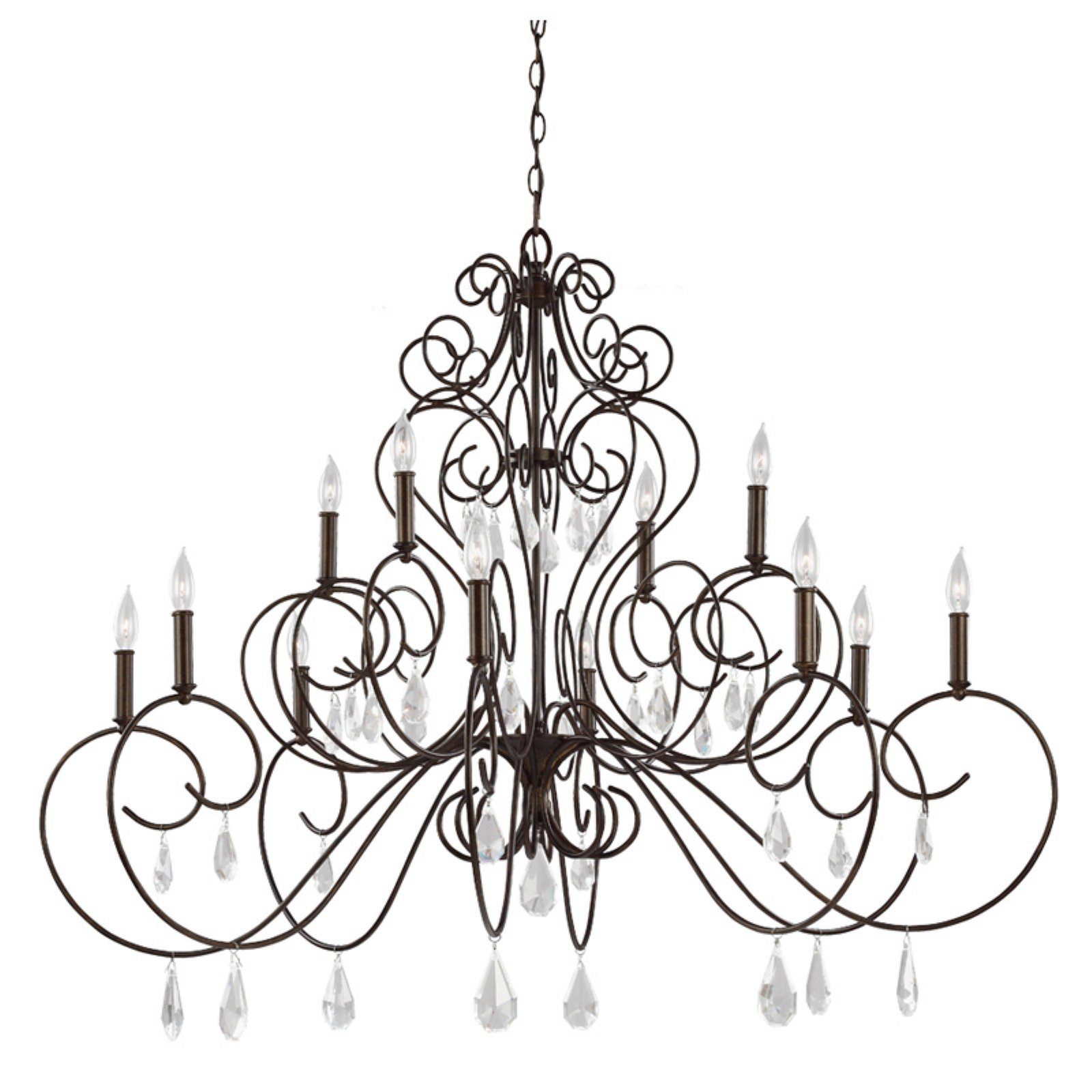Feiss Angelette F3043 Chandelier by Murray Feiss