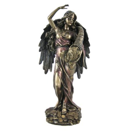 Bronze Fortuna Roman Goddess Of Fortune Statue Tykhe](Roman Goddess)