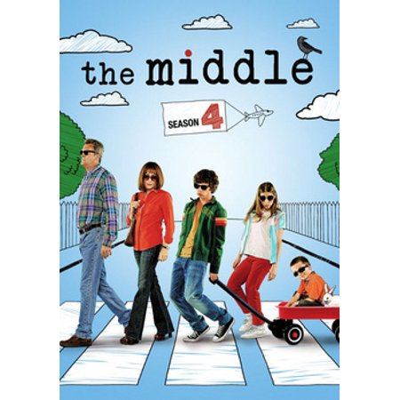 MIDDLE-COMPLETE 4TH SEASON (DVD/3 DISC/FF-16X9) - The Middle Halloween Season 6