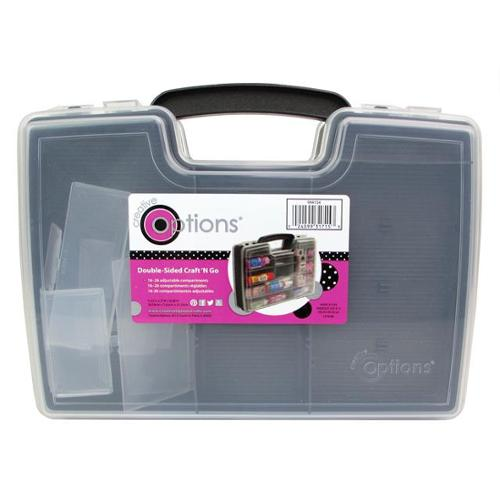 Creative Options Storage Dbl Sided Craft N Go Blk