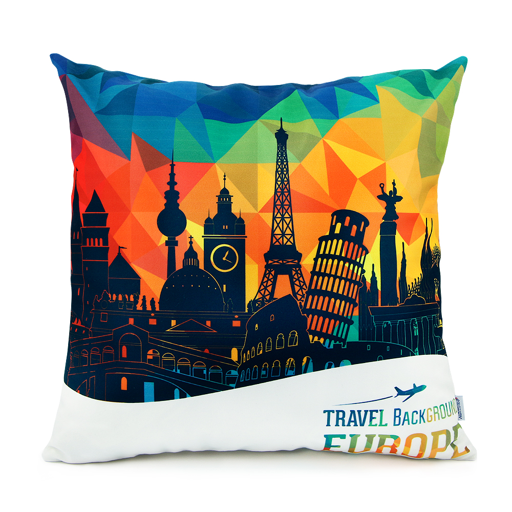 18 x 18 Standard Size Square Decorative Throw Pillow Case Cushion