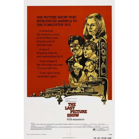 The Last Picture Show - movie POSTER (Style D) (27