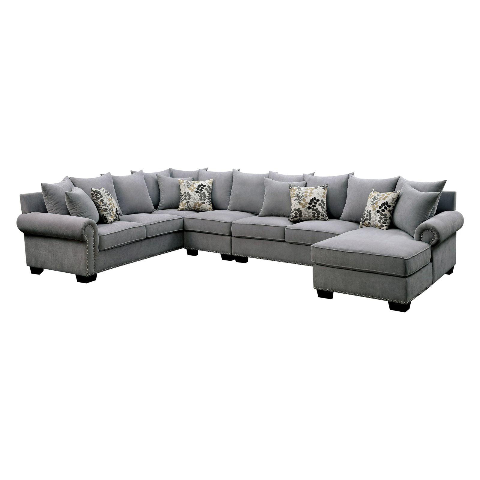 Furniture of america rochelle sectional walmart com