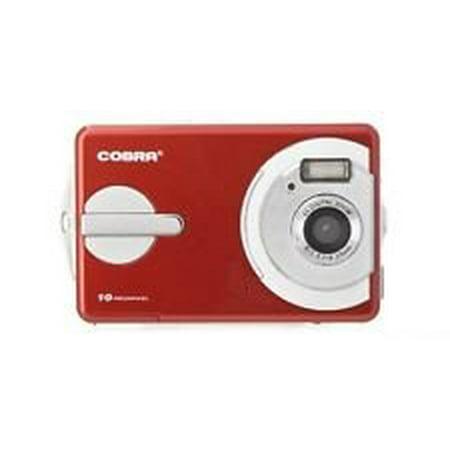 "Cobra 10MP 2.4"" Digital Camera with Auto Flash - DCA1030-RED"