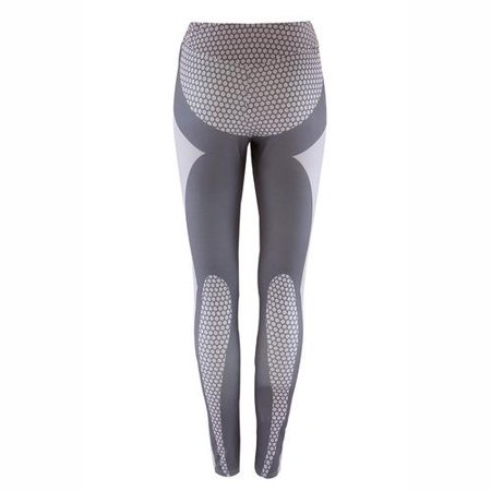 Women's Yoga Leggings Print Workout Pants for Running Sports Fitness Gym