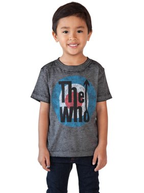 68d0e563bc Product Image Toddler Baby Boys The Who Band T-Shirt - Short Sleeve Gray