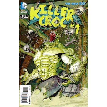 BATMAN AND ROBIN 234 3D LENTICULAR COVER KILLER CROC 1 VARIANT DC