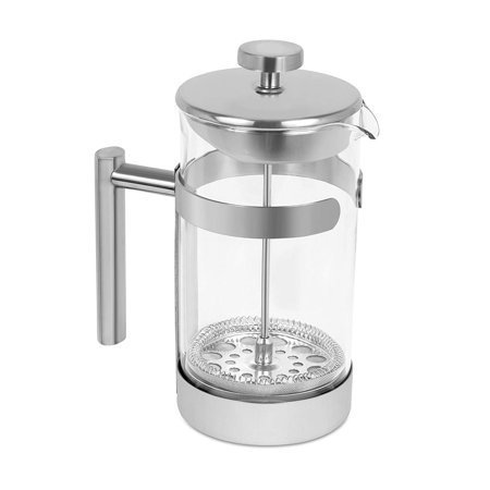 Internet's Best Stainless Steel French Press | 34 Oz | Coffee Maker Glass