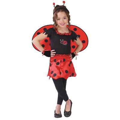 Halloween Express Wi (IN-MC1157SM Sweetheart Lady Bug Girls Halloween Costume SMALL By Fun)