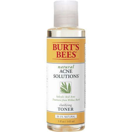 Sensitive Skin Toner - Burts Bees Natural Acne Solutions Clarifying Toner, Face Toner for Oily Skin, 5 Ounces