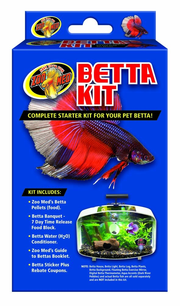 Zoo Med Aquatic Betta Kit Complete Betta Starter Kit by ZOO MED LABS INC