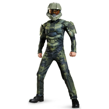 Halo: Master Chief Muscle Child Costume](Halo Master Chief Outfit)