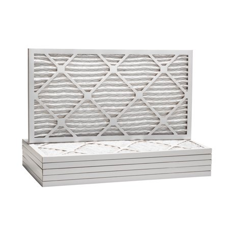 - Tier1 Replacement for 16-1/4x21-1/2x1 Merv 8 Pleated Dust & Pollen AC Furnace Air Filter 6 Pack