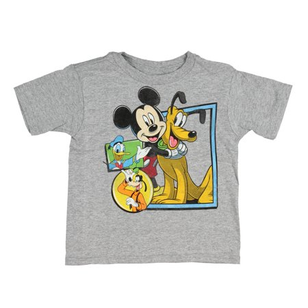Pal Mickey Mouse (Disney Toddler Boys' Mickey Mouse and Best Pals T-Shirt Tee)