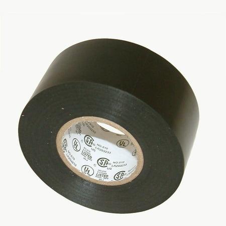 JVCC EL7566-AW Premium Grade Electrical Tape: 1-1/2 in. x 66 ft. (Black)