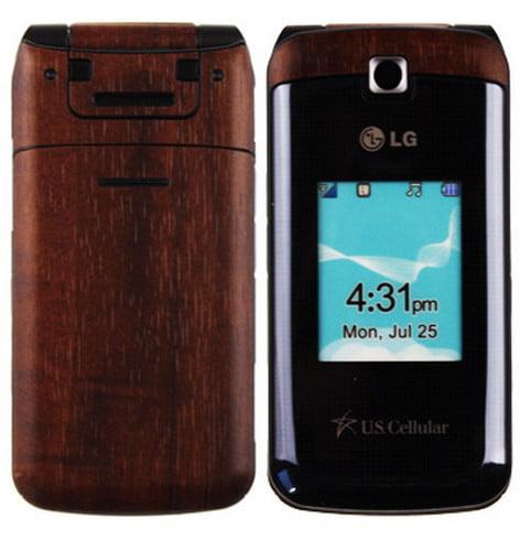 Skinomi Wood Full Body + Screen Protector Film for LG Wine 2