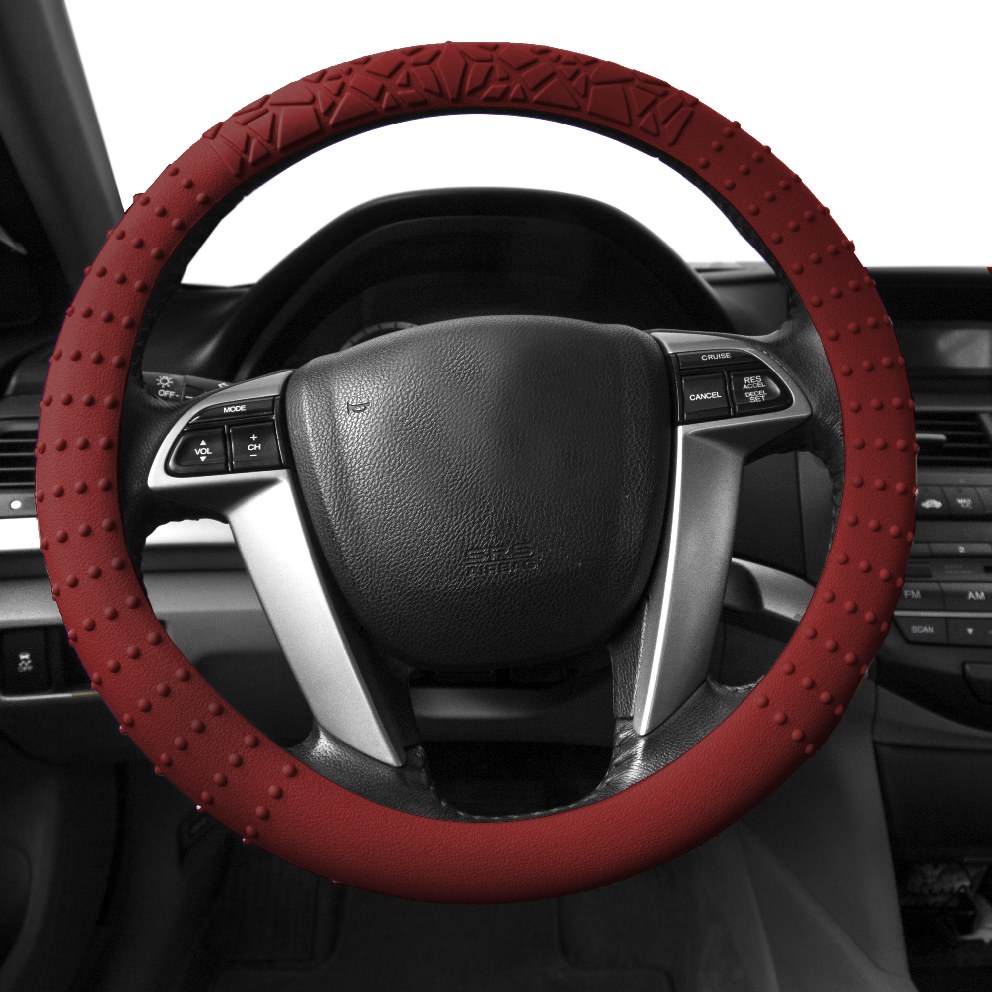 FH Group, Silicone Steering wheel cover 14 Colors Nibs Sturdy Massage Grip, Steering Cover
