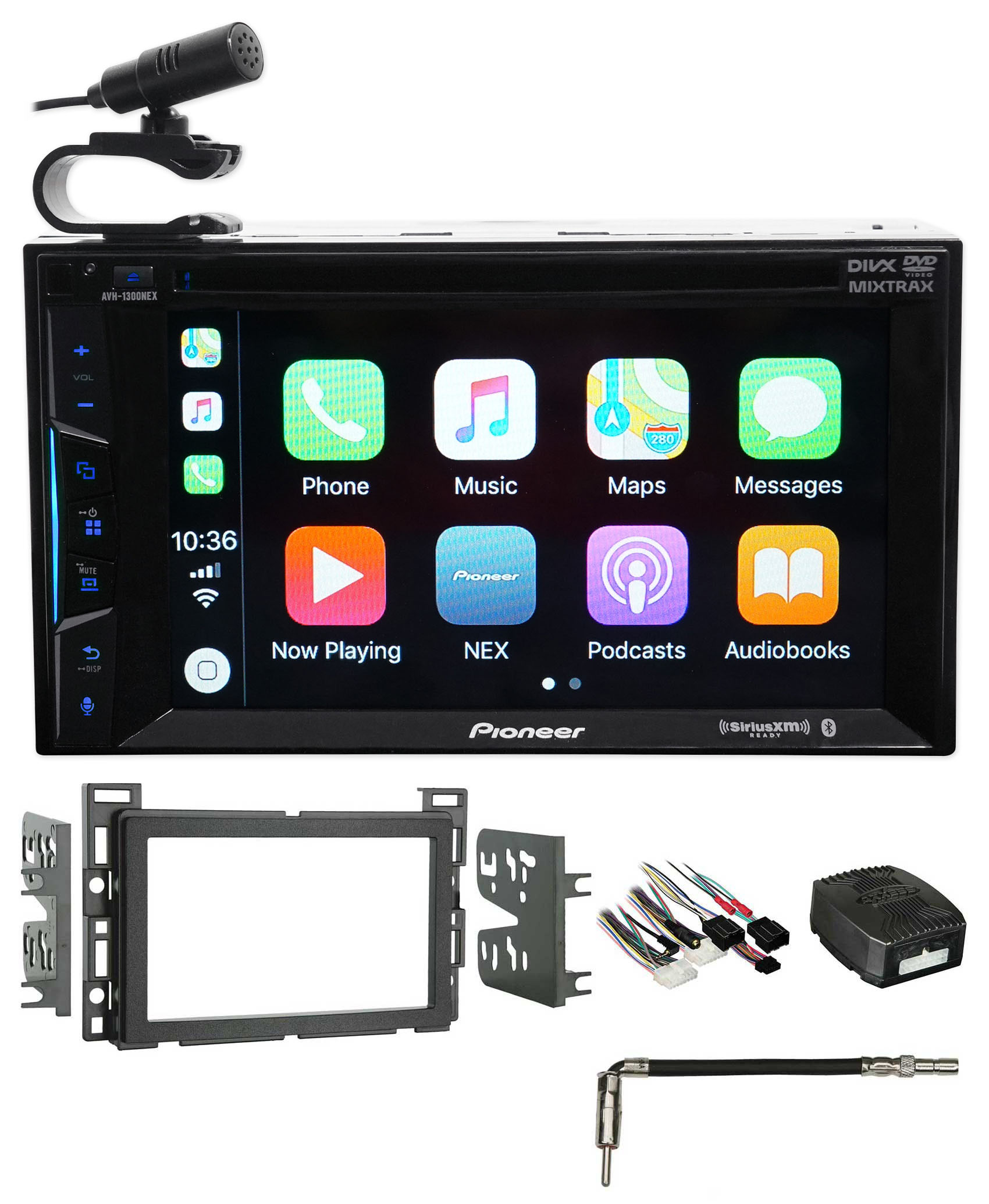 2008-2012 Chevrolet Malibu Pioneer Bluetooth DVD Receiver iPhone Android CarPlay by Pioneer