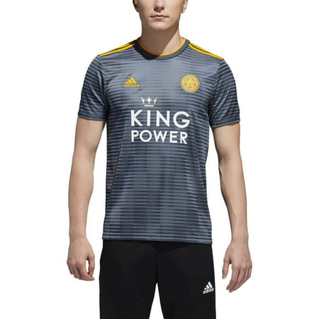 4 Away Soccer Jersey - adidas Leicester City Away Men's Soccer Jersey 2018-19 | DM3414