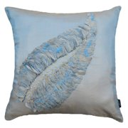 A1 Home Collections Light Violet Leaf Throw Pillow