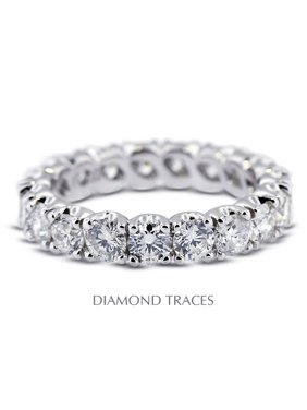 1.11ctw G-SI3 Ideal Cut Round Cert. Diamonds 14k Gold Classic Wedding Ring 3.2mm