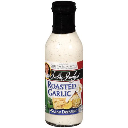 Sal & Judy's Roasted Garlic Salad Dressing, 12 fl oz - Walmart.com