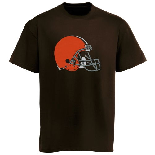 Cleveland Browns Historic Logo Youth Team Logo T-Shirt - Brown