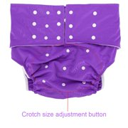 OTVIAP Washable Adult Diaper, Adjustable Adult Nappy,5 Colors Washable Adult Pocket Nappy Cover Adjustable Reusable Diaper Cloth