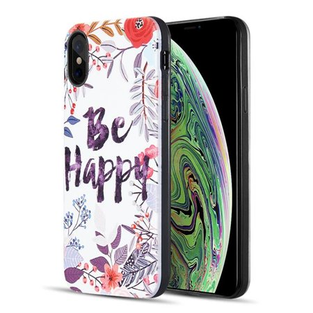 Dream Wireless TCAIPXS-ARTP-041 The Art Pop Series 3D Embossed Printing Hybrid Case for iPhone XS & X - Design