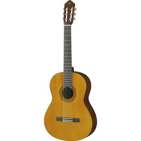 Yamaha C40II Full-sized Spruce Classical Acoustic (Yamaha C40ii Bl Classical Guitar Limited Edition Black)