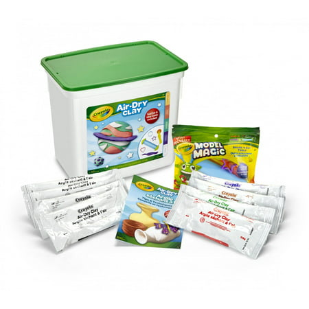 Crayola Air-Dry Clay Set, Clay Tools, Art Gift for Kids and Adults ...