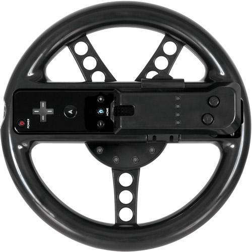 DreamGear Turbo Wheel - Black (Wii)