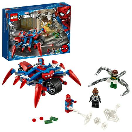 LEGO Marvel Spider-Man: Spider-Man vs. Doc Ock 76148 Superhero Action Figure Adventure Playset Motorcycle Battle Building Toy (234 Pieces)