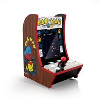 Pac-Man 40th Anniversary CounterCade, 4 Games in 1, Arcade1UP, 815221021907